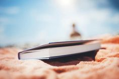 Book Lying On The Beach