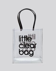 $24 |  Clear Bag Bloomingdale's
