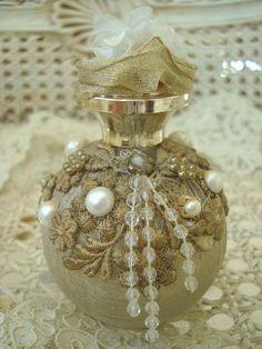 Unusual Vintage Perfume Bottle