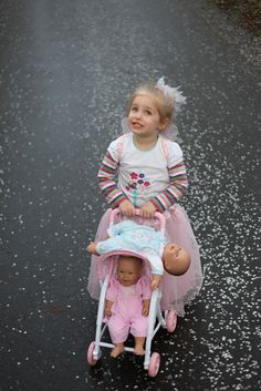 Princess And Babies And Petals