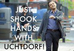 Uchtdorf + Leo =)