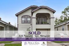 SOLD! $285,000 4bed/2bath Single Family Home 121 Nursery Ave, Metairie, LA - Greater New Orleans Real Estate http://www.thenolagal.com