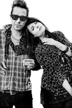 The Kills. Alison Mosshart rocks like no other modern lady rocker.
