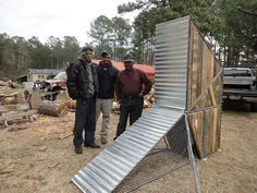 Chicken Coop in Bertie County - by students under the tutelage of Studio H