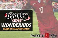 Download Passion4FM's Ultimate shortlist of Football Manager 2017 Wonderkids and Talents. Discover the best FM17 wonder kids and promising youth with detailed player reviews. Management, Football, Good Things, Youth, Kids, Gaming, War, Sport, Soccer