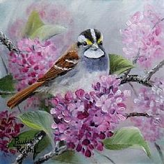 Art: The Smell of Spring by Artist Paulie Rollins