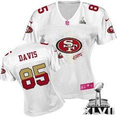 Vernon Davis Elite Jersey-80%OFF Nike Super Bowl XLVII Vernon Davis Elite  Jersey at 49ers Shop. (Elite Nike Women s Vernon Davis White Super Bowl  XLVII ... 494f20dc5