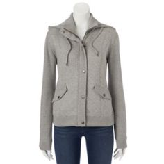 Sebby Hooded Quilted Knit Jacket - Women's
