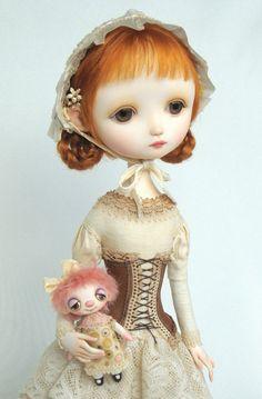 Carolyn- original doll by Ana Salvador