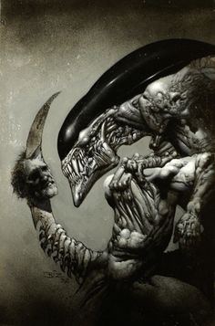 Alien by Simon Bisley