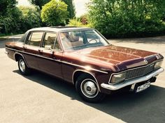Opel Admiral B 2.8 KAD, my Dad had one...