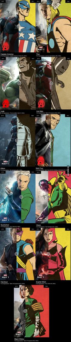 Avengers, old and new merged!