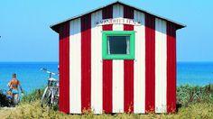 Ærø, beach hut