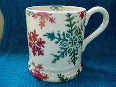 Emma Bridgewater mug - Snow flake | eBay.....