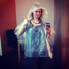 DIY rain coat