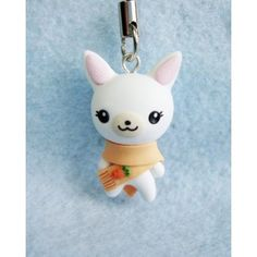 Winter Rabbit, keychain & mobile accessories, llaveros , colgantes de movil, animal,invierno,conejo,conejita