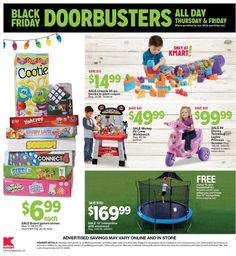 Kmart Black Friday 2018 Ads and Deals Browse the Kmart Black Friday 2018 ad scan and the complete product by product sales listing. Kmart Coupons, Black Friday News, Ads