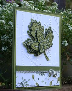 My Tanglewood Cottage: Lighthearted Leaves, Stampin' Up!