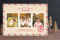 Par Avon Christmas Photo Cards by j.bartyn at minted.com