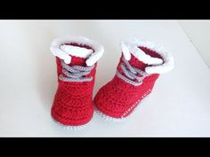 Baby Shoes, Babys, Kids, Scarves, Crocheting, Dots, Manualidades, Crochet Slippers, Babies