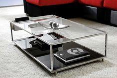 Mesa de Centro Moderna 110cms Xenia   Material: Acero Inox.   ... Eur:707 / $940.31