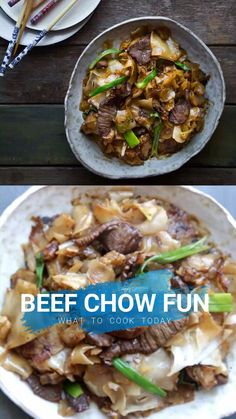 Learn how to make restaurant-style beef chow fun / hor fun in your very own kitchen. It's seriously easy and no fuss recipe. All the tips you need to know to recreate this. recipe filipino food instant pot The Best Beef Chow Fun / Hor Fun Feijoada Recipe, Bulgogi Recipe, Asian Noodle Recipes, Easy Asian Recipes, Easy Vietnamese Recipes, Vietnamese Food, Beef Recipes, Cooking Recipes, Healthy Recipes