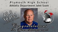 Although wearing multiple hats while working for Plymouth Community School Corporation, the hat undoubtedly most will always remember him wearing is the Plymouth High School Athletics as the boisterous public address announcer for the PHS Football games for 23 years stemming from 1996 to 2019.
