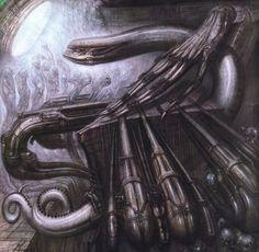 Um artista prolífico por mais de cinco décadas, ele é mais conhecido pelo seu trabalho no clássico de sci-fi Alien.