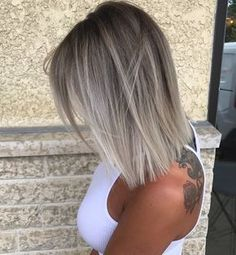 "6,617 Likes, 76 Comments - Sarah McDonald (@styles.by.sarah) on Instagram: ""Who else loves blunt textured bobs?? (Color, cut & style by @styles.by.sarah)"""