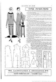 La Mode du jour. [1925/04/16