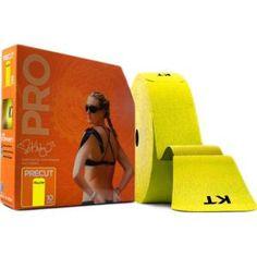 KT Tape Pro Jumbo Synthetic Precut Yellow
