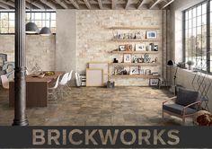 Porcelain Tile that looks like Brick! http://www.architecturalceramics.com/products/brickworks