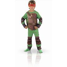 Panoplie luxe Tortue Ninja avec masque et cagoule (taille 7-8 ans)