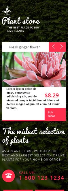 Flowers Most Popular website inspirations at your coffee break? Browse for more Responsive JavaScript Animated #templates! // Regular price: $63 // Sources available: .HTML,  .PSD #Flowers #Most Popular #Responsive JavaScript Animated