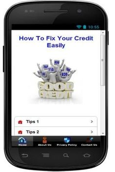In this app, we share many credit repair tips. It will surely help you to fix your credit easily. No need to buy any expensive eBook, you can get it here free. You can improve your credit score with 10 simple tips. If you are one of those guy who want to correct your bad credit, we hope that this app will help you.<p><p>IMPORTANT INFO:<p>1) You DO NOT NEED ANY  internet connection to view info in this app<br>2) IT IS FREE forever<p><br>Any comments , feedback , questions, please email us at…