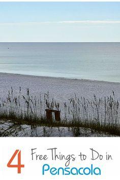 4 free things to do in Pensacola, Florida.