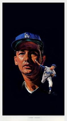 Los Angeles Dodgers, Larry, Movie Posters, Movies, Dodgers Baseball, Films, Film Poster, Cinema, Movie