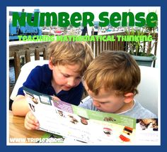 Number Sense: Teaching Mathematical Thinking |TripleZmom, not Supermom