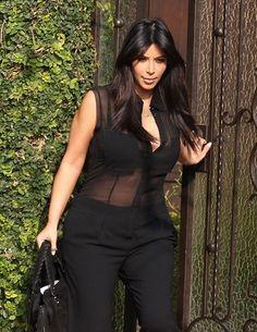 Kim Kardashian's Baby Bump! - Kim Kardashian Style