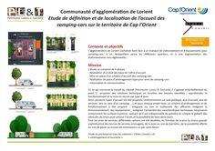 Communauté d'agglomération de Lorient - étude définition et de localisation de l'accueil des camping-cars sur le territoire de Cap l'Orient.