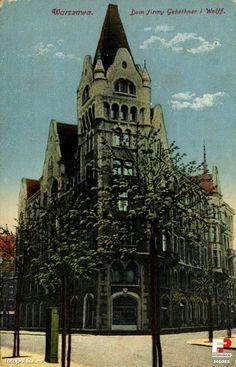 Dom firmy Gebethner i Wolff, Warszawa - 1914 rok, stare zdjęcia
