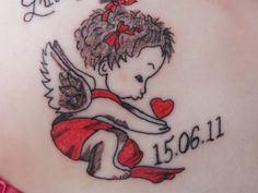cherub angel tattoos | sweet 25 Original Cherub Tattoos