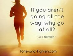 See the ending from the beginning - then have the determination and dedication to chase it down until you get there. #fitness #motivation from Tone-and-Tighten.com
