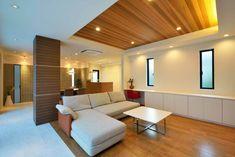 Ceiling Wood Design, Interior Ceiling Design, False Ceiling Living Room, Ceiling Design Living Room, Luxury Homes Interior, Living Room Modern, Bedroom Decor, Ceilings, Houses