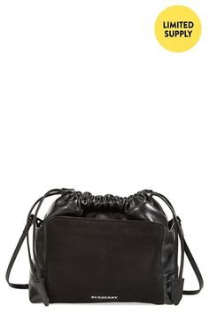 Burberry 'Little Crush' Leather Crossbody Bag available at #Nordstrom
