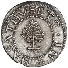 Silver shilling, Boston (Mass.), 1652. 1944.94.2