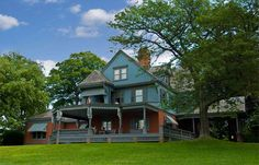 "Sagamore Hill - The ""summer White House"" of Teddy Roosevelt (a favorite place to visit when I was a child)"