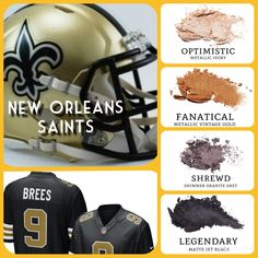 Discover Younique's professional-quality cosmetics, skin care, and fragrances for endless looks you'll love. Younique Eyeshadow, Beauty Makeup, Hair Makeup, Eyeshadow Looks, Acne Scars, Nfl Football, New Orleans, Makeup Looks, Saints Vs