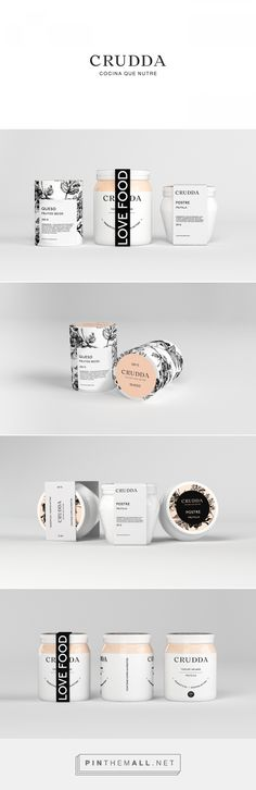 Crudda Plant Based Food Packaging by Ariel Di Lisio | Fivestar Branding Agency – Design and Branding Agency & Curated Inspiration Gallery