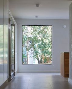 Adore this large picture window. Clever Renovation Budget Tricks Totally Transformed This Austin Home